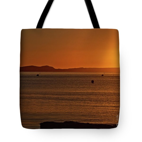 Tote Bag featuring the photograph Portland Sunrise by Baggieoldboy