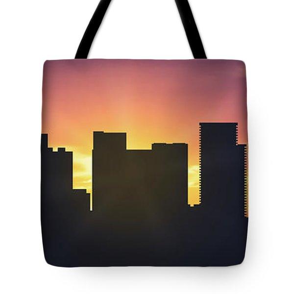Portland Sunset Usorpo-pa01 Tote Bag