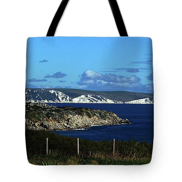 Tote Bag featuring the photograph Portland To Weymouth  by Baggieoldboy
