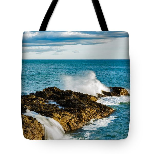 Tote Bag featuring the photograph Portlethen, Scotland by Ian Middleton