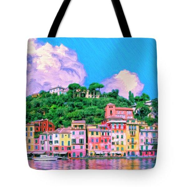 Portofino Tote Bag by Dominic Piperata