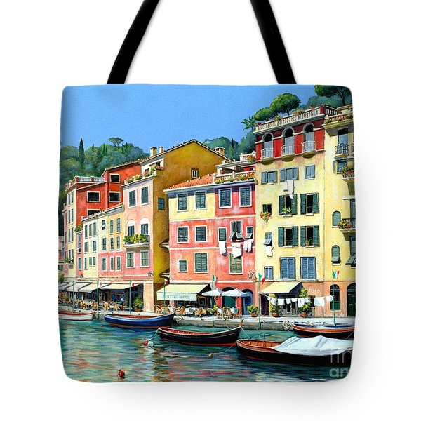 Portofino Sunshine 30 X 40 Tote Bag