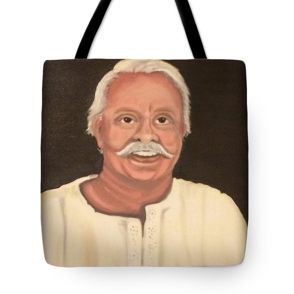 Portrait 2 Tote Bag by Brindha Naveen