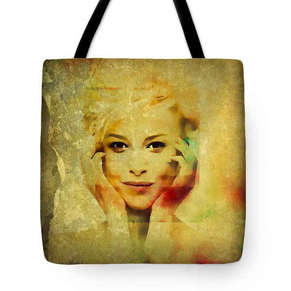 Portrait 40 Tote Bag