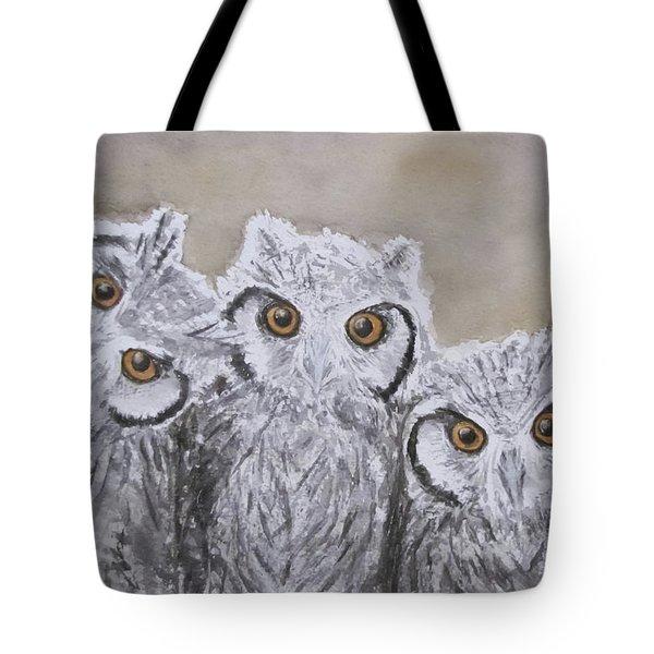 Portrait De Famille Tote Bag