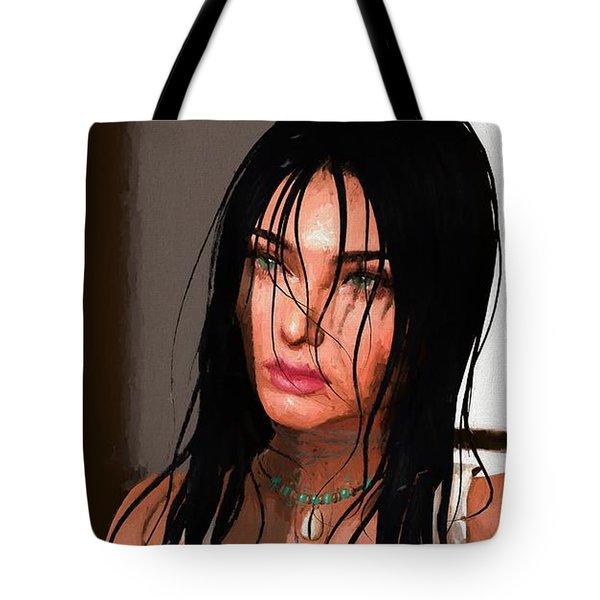 Portrait Female 1 Tote Bag