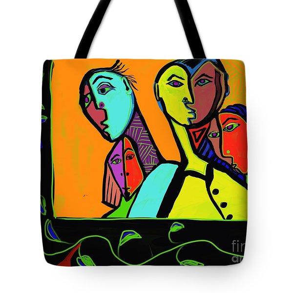 Portrait Tote Bag by Hans Magden