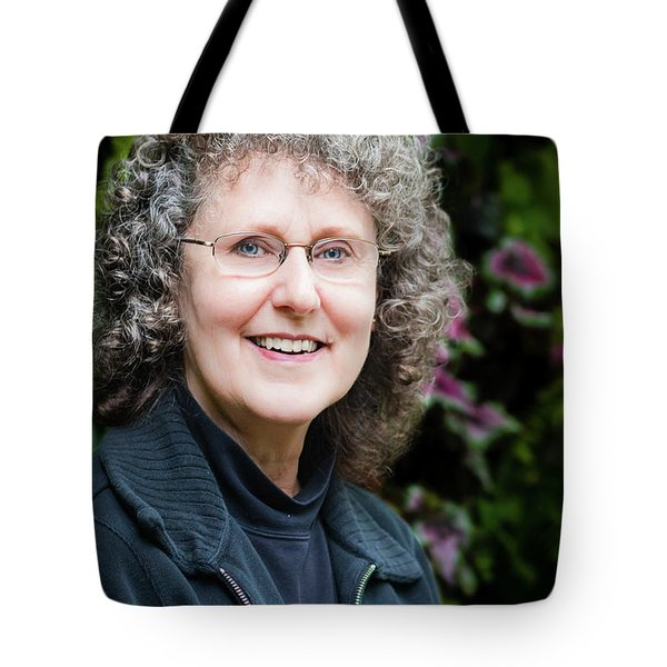 Portrait In The Leaves Tote Bag