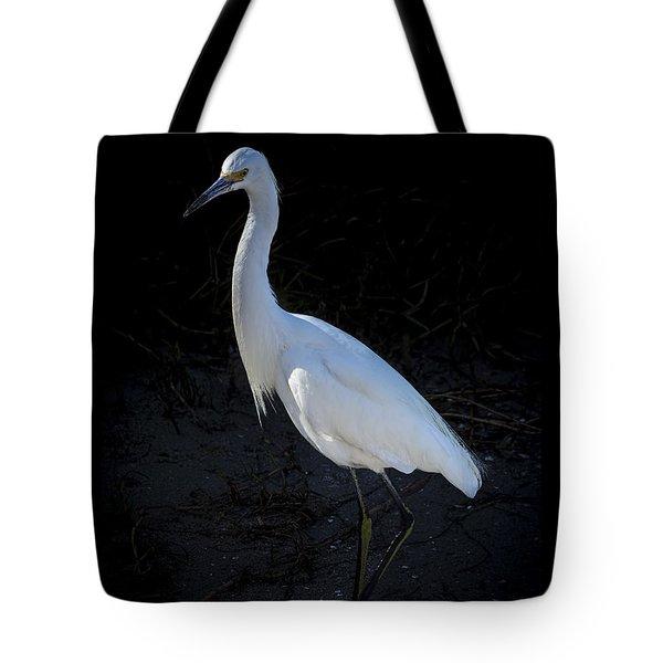 Portrait In White Tote Bag