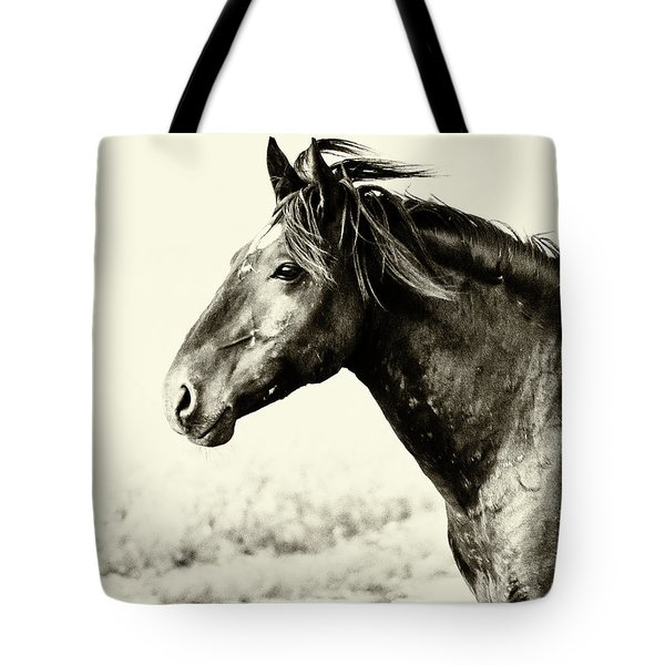 Portrait Tote Bag by Mary Hone