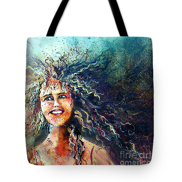 Portrait Me Tote Bag
