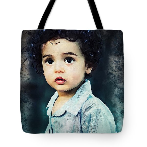 Portrait Of A Child Tote Bag