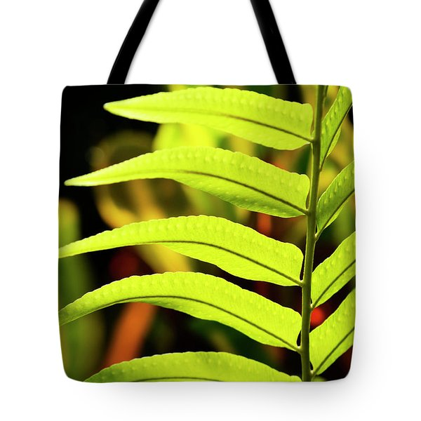 Portrait Of A Fern Tote Bag