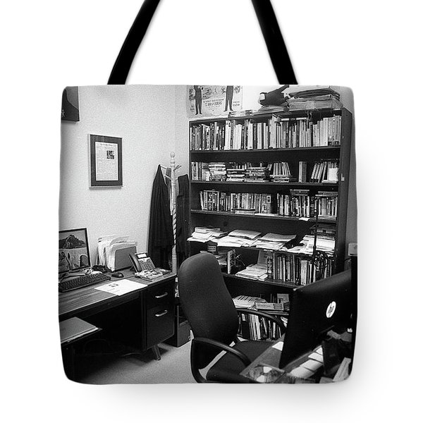 Portrait Of A Film/tv Professor's Office Tote Bag