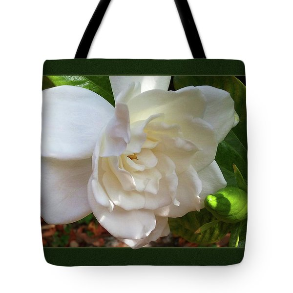 Portrait Of A Gardenia Tote Bag