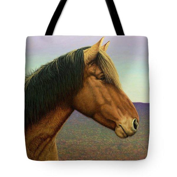 Portrait Of A Horse Tote Bag