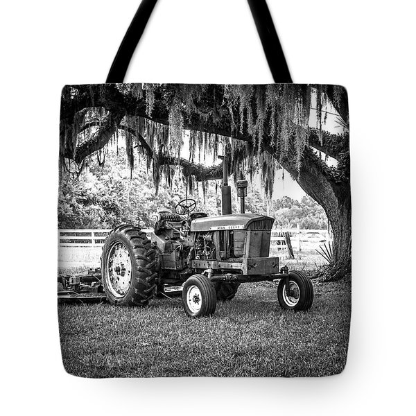 Portrait Of A John Deere Tote Bag
