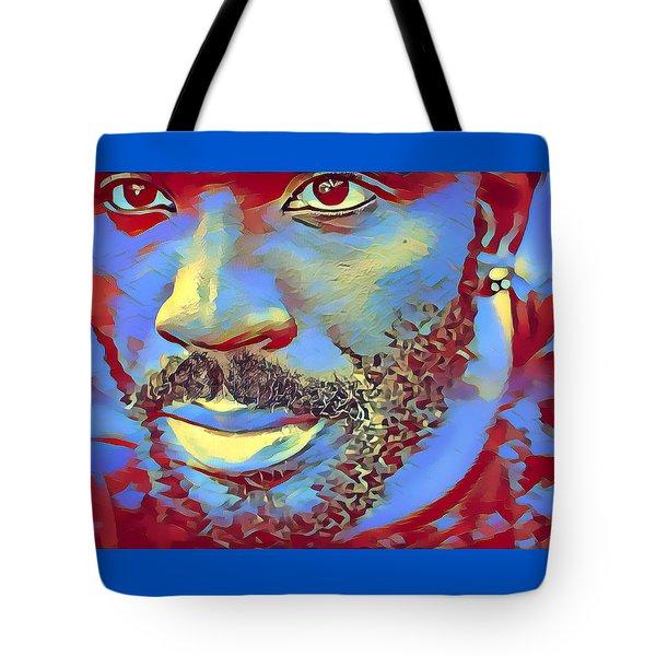 Portrait Of A Man Of Color Tote Bag