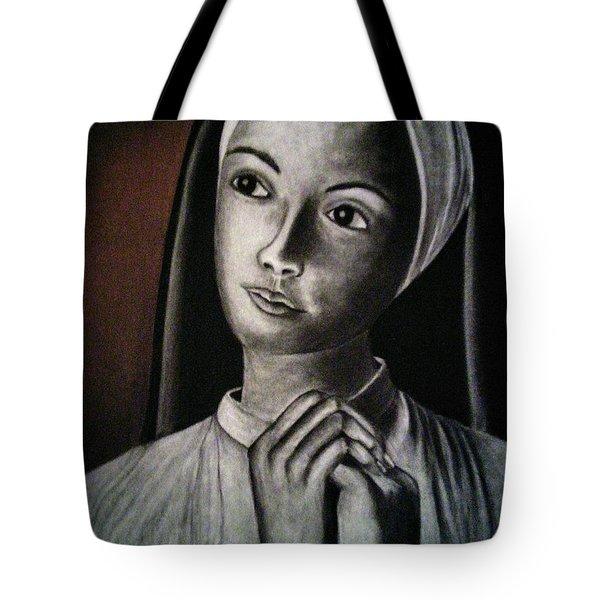 Portrait Of A Nun Tote Bag