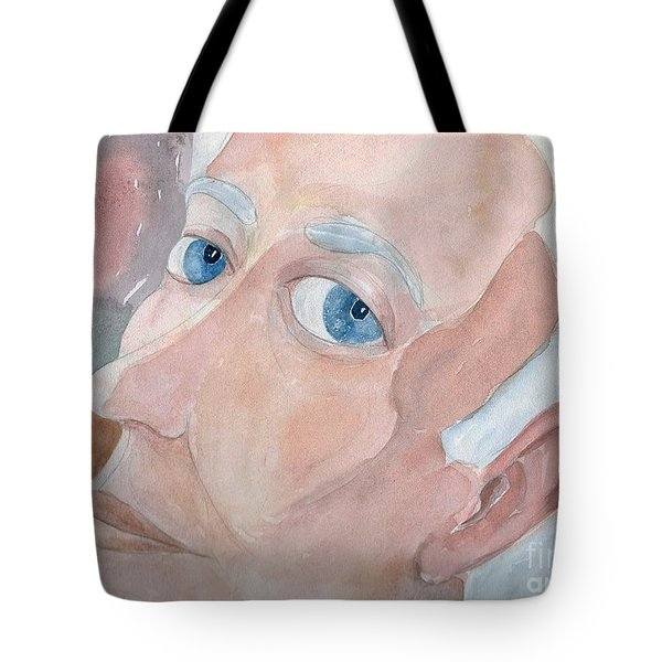 Portrait Of A Poet Tote Bag
