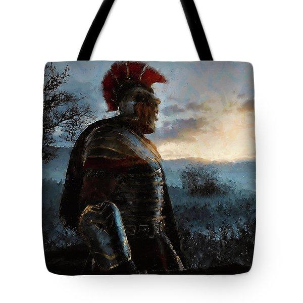 Portrait Of A Roman Legionary - 34 Tote Bag