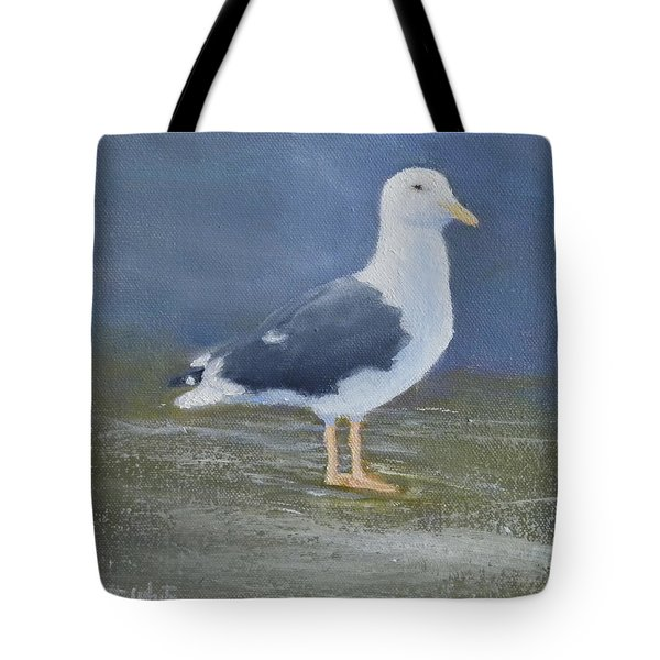 Portrait Of A Seagull Tote Bag