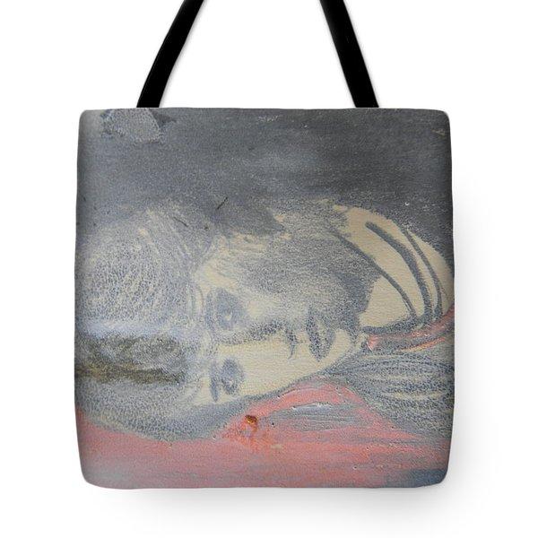 Portrait Of A Theatre Actress Tote Bag