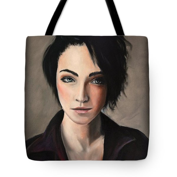 Portrait Of A Woman #2 Tote Bag