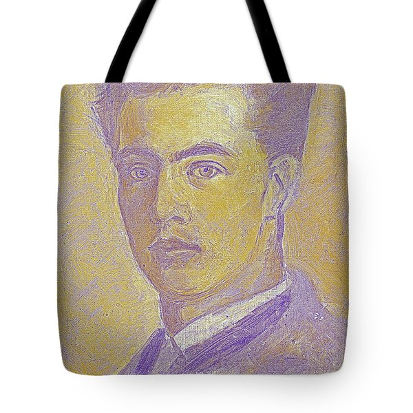Portrait Of A Young Artist 2 Tote Bag