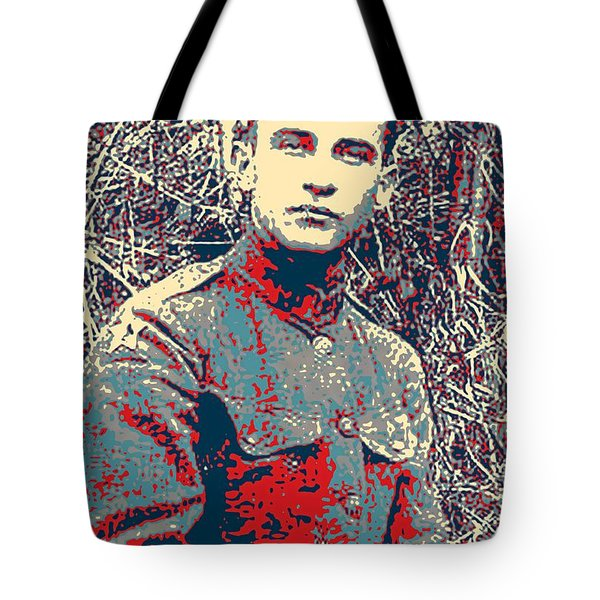 Portrait Of A Young  Wwi Soldier Series 17 Tote Bag