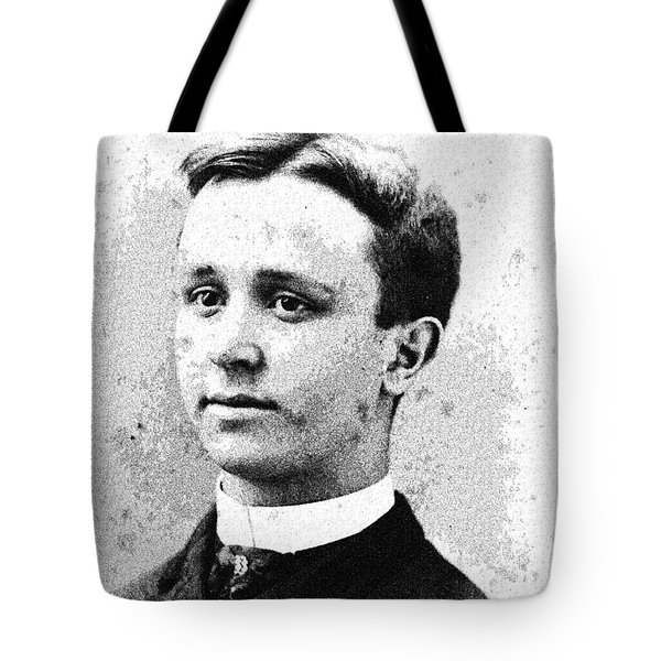 Portrait Of A Youth 29 By Adam Asar -  Asar Studios Tote Bag