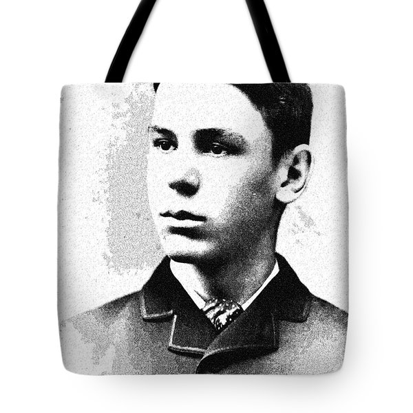 Portrait Of A Youth 35 By Adam Asar -  Asar Studios Tote Bag