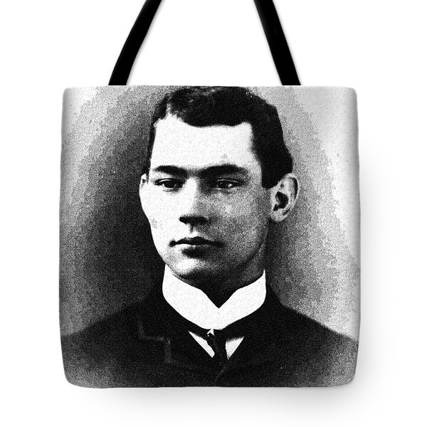Portrait Of A Youth 39 By Adam Asar -  Asar Studios Tote Bag