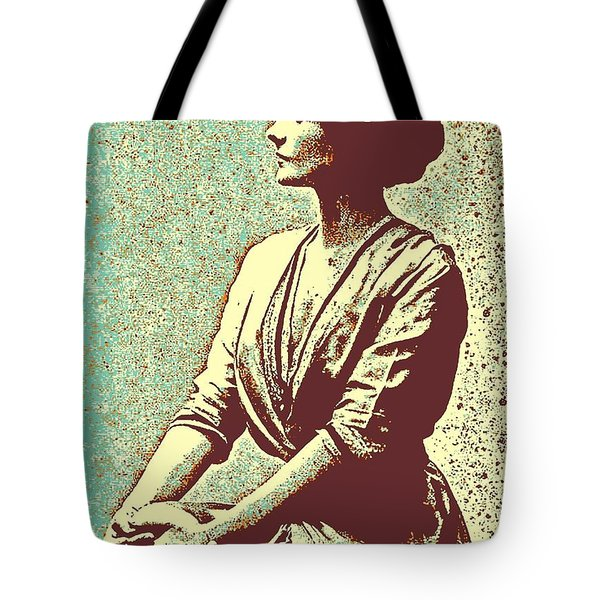 Portrait Of A Youth 41 By Adam Asar -  Asar Studios Tote Bag