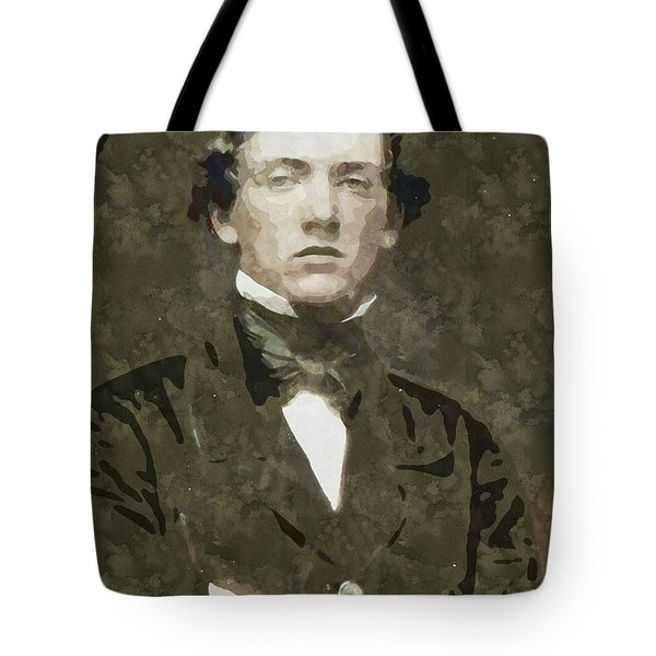 Portrait Of A Youth From History Series. No 26 Tote Bag