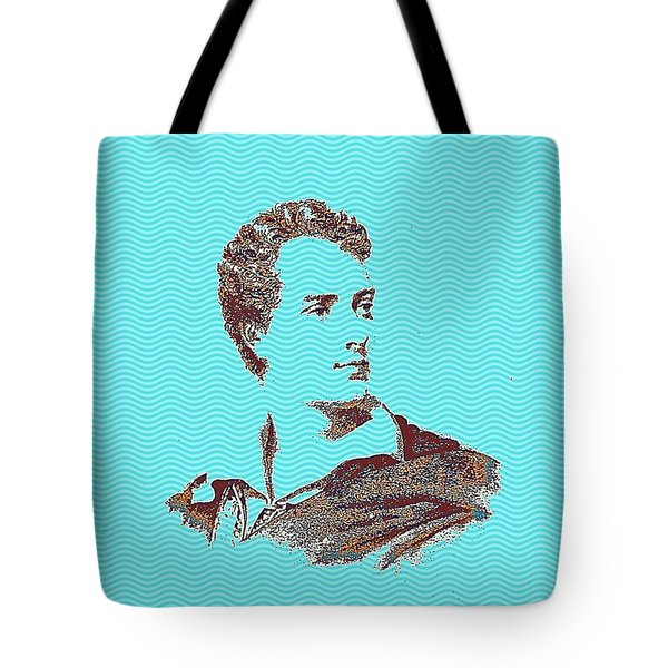 Portrait Of A Youth From History Series. No 9 Tote Bag