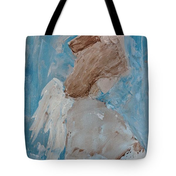 Portrait Of An Angel Tote Bag