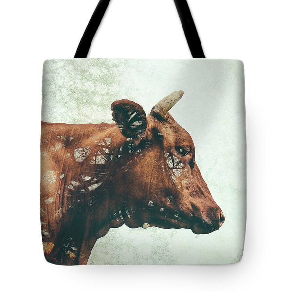 Portrait Of Bess Tote Bag by Katherine Smit