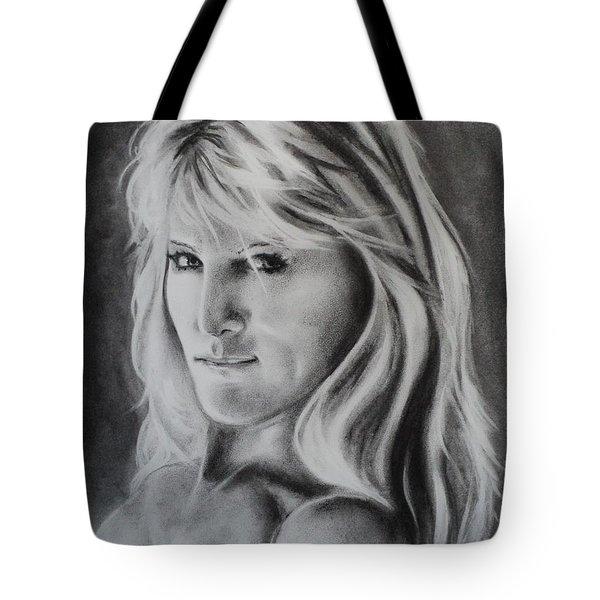 Portrait Of  Carla Tote Bag by Carla Carson