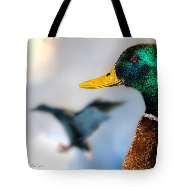 Portrait Of Duck 2 Tote Bag