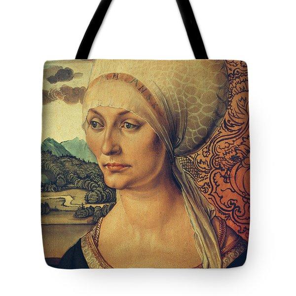 Portrait Of Elisabeth Tucher Tote Bag