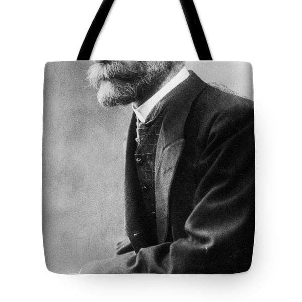 Portrait Of Emile Durkheim Tote Bag