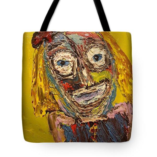 Portrait Of Finja Tote Bag