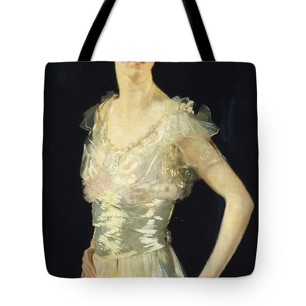 Portrait Of Gardenia Tote Bag