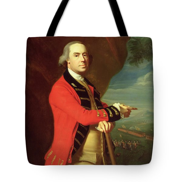 Portrait Of General Thomas Gage Tote Bag by John Singleton Copley