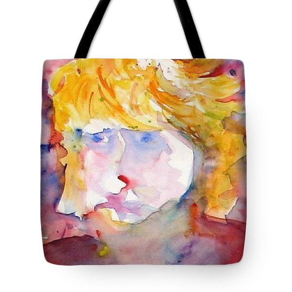Portrait Of Graham Tote Bag