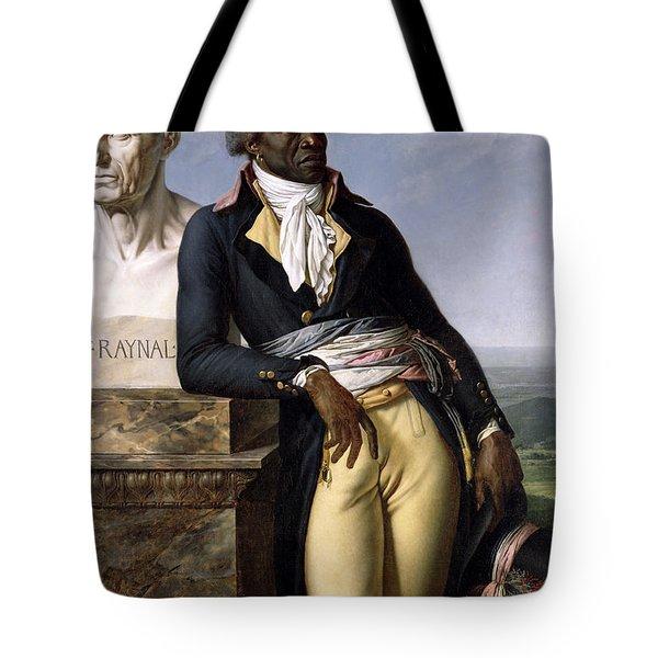 Portrait Of Jean-baptiste Belley Tote Bag by Anne Louis Girodet de Roucy-Trioson