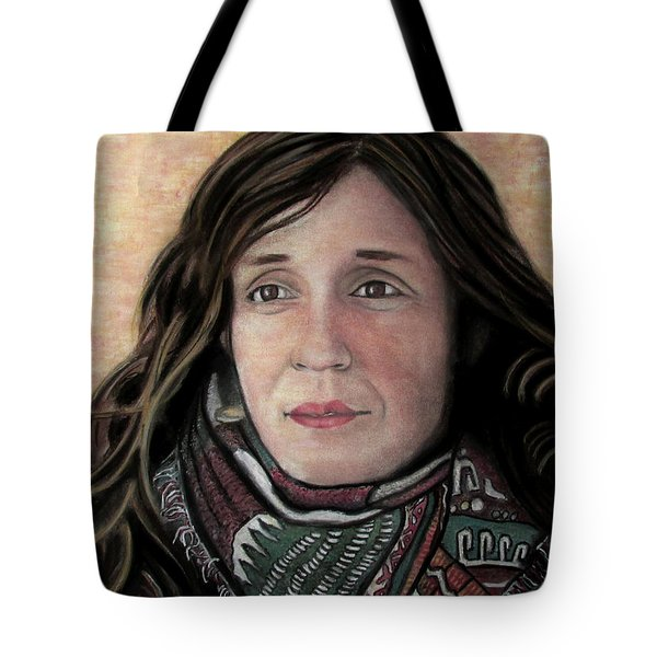 Portrait Of Katy Desmond, C. 2017 Tote Bag by Denny Morreale