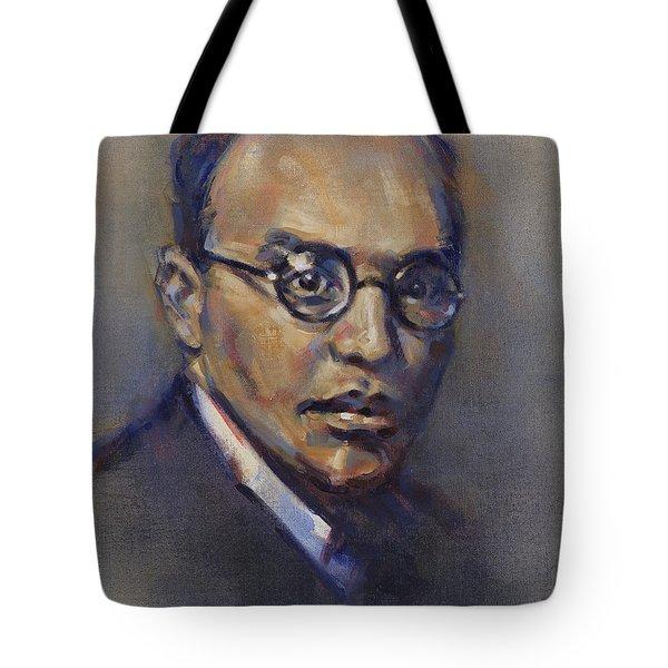 Portrait Of Kurt Weill Tote Bag