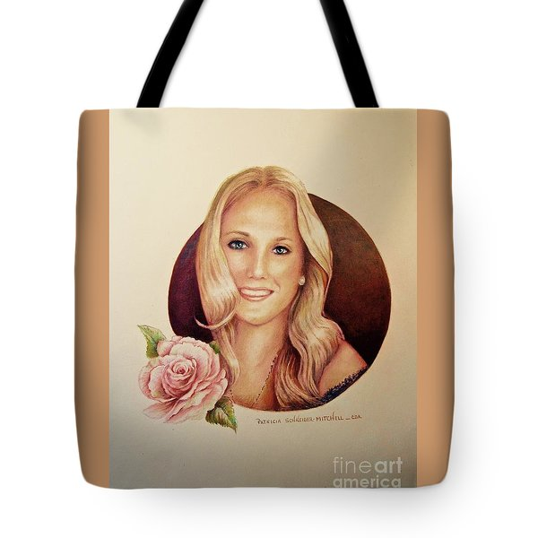 Portrait Of Lauren Tote Bag